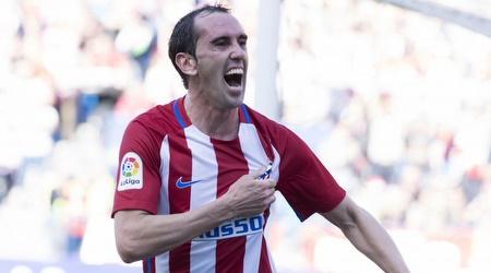 דייגו גודין חוגג. ממשיך במדריד (La Liga)