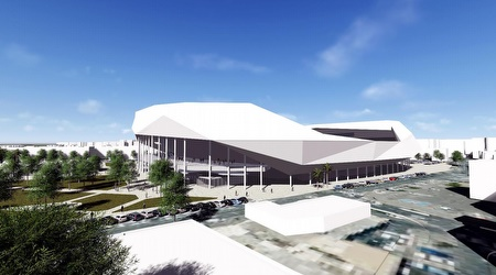 ישוב לארח ב-2019/2020. הדמייה של האצטדיון ביפו (מנספלד קהת אדריכלים)