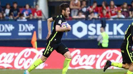 דויה צ'ופ ממהר אחרי השער המצמק (La Liga)