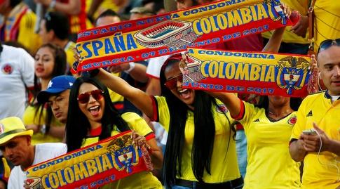 אוהדי קולומביה (רויטרס)