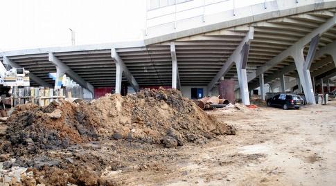 ההריסות באצטדיון בלומפילד (משה חרמון)