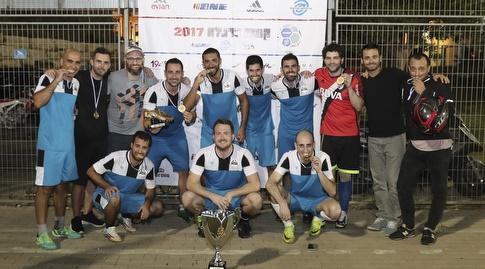 נבחרת מקאן: מחזיקת גביע קופה ברנז'ה 2017 (איציק בלניצקי)