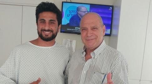 פרופסור דודאי וקני סייף טרם הניתוח (מערכת ONE)