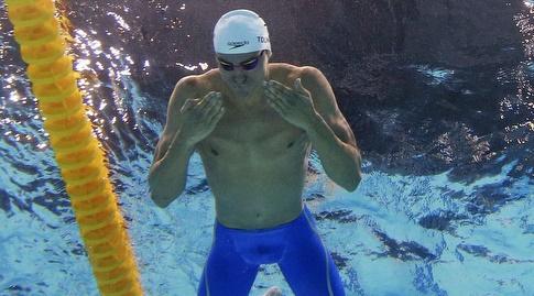 אהב את השינוי שהכניסה ליגת ה-ISL. טומרקין בבריכה (רויטרס)