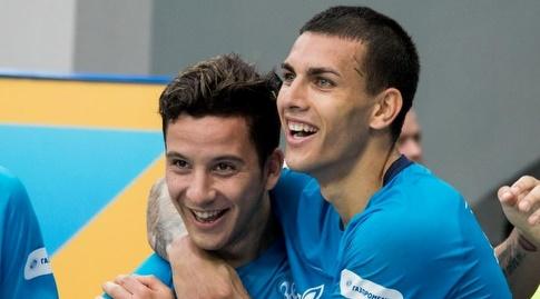 סבסטיאן דריוסי ולנארדו פארדס (האתר הרשמי של זניט)