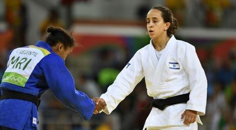 גילי כהן באולימפיאדת ריו. הודחה מהר (עמית שיסל)