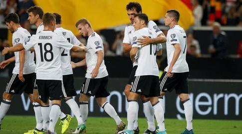 שחקני גרמניה. איזו נבחרת נראה ברוסיה? (רויטרס)