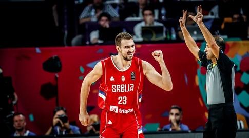 מרקו גודוריץ' חוגג (FIBA)