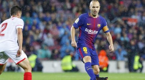 אינייסטה עם הכדור (La Liga)