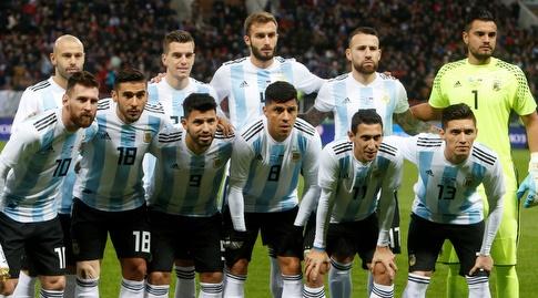 נבחרת ארגנטינה. אחת הנמוכות בעולם (רויטרס)