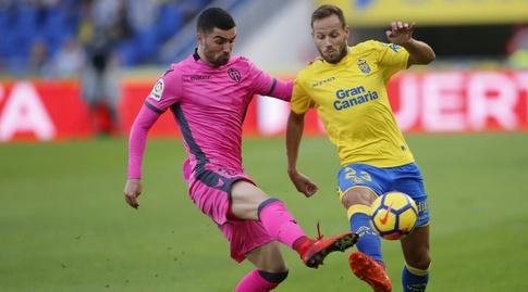 דני קסטיאנו מנסה לעבור (La Liga)