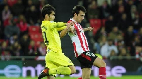מאנו טריגרוס מנסה לעצור את איניגו לקווה (La Liga)