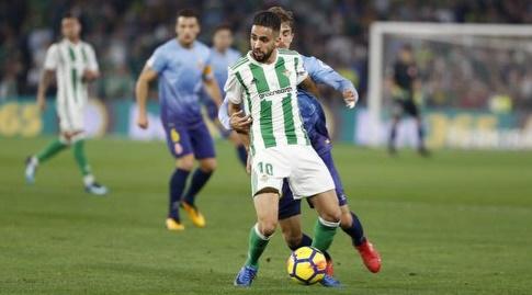 ריאד בודבוז עם ככדור (La Liga)