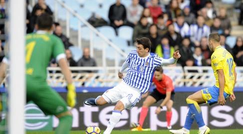 מיקל אויארסבאל עובר שחקן (La Liga)