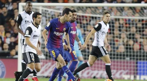 בוסקטס. ברצלונה לחצה מהפתיחה (La Liga)