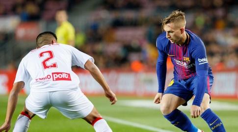 ג'רארדדאולופאו עם הכדור (La Liga)