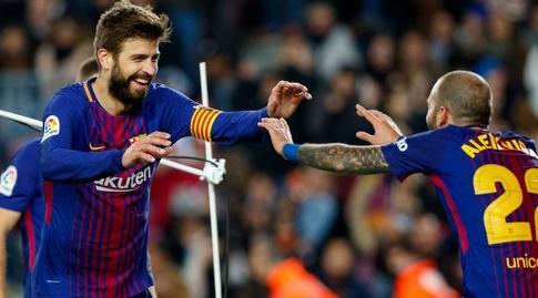 ג'רארד פיקה. התכבד בשער (La Liga)