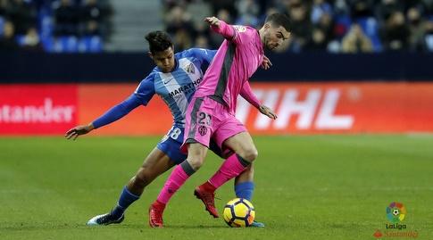רוברטו רוסאלס שומר על ג'ייסון (La Liga)