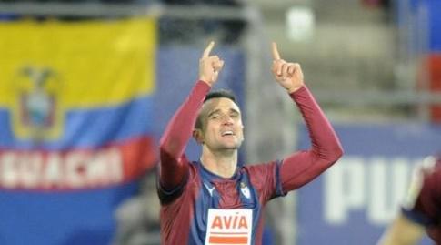 קיקה חוגג את שער היתרון (La Liga)