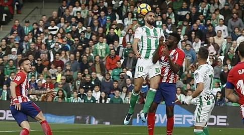 תומאס פארטה וריזה דורמיסי בקרב אווירי (La Liga)