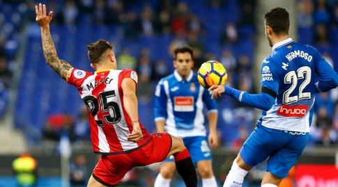 פבלו מפאו מנסה להקדים את מריו הרמוסו (La Liga)