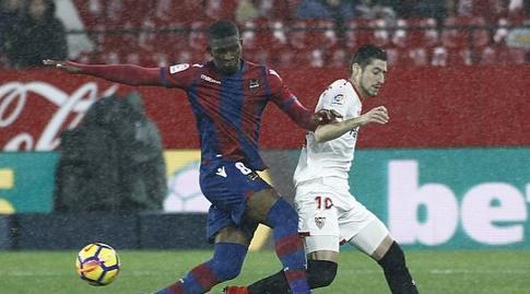 אבר באנגה מול ג'פרסון לרמה (La Liga)