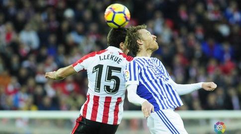 דויד סורוטוסה קופץ לכדור (La Liga)