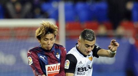 אנדראס פריירה מול טקאשי אינוי (La Liga)