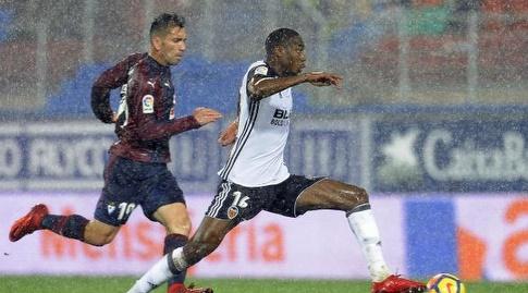ג'ופרי קודונגביה עם הכדור (La Liga)