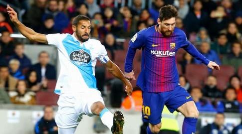ליאו מסי יוצא קדימה (La Liga)