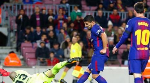 מסי מבשל לסוארס (La Liga)