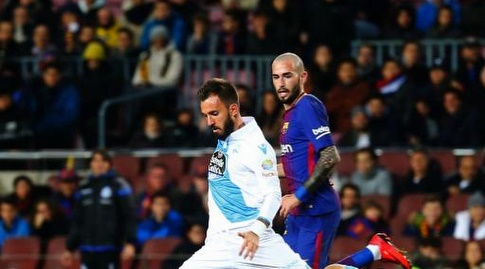 חיל בועט לשער, וידאל משקיף (La Liga)