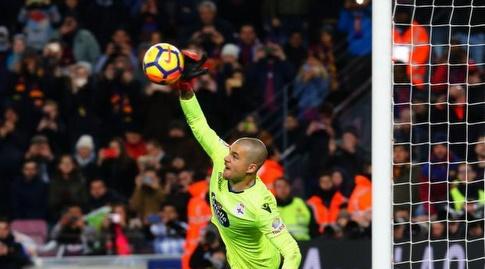 רובן הודף את הפנדל של מסי (La Liga)