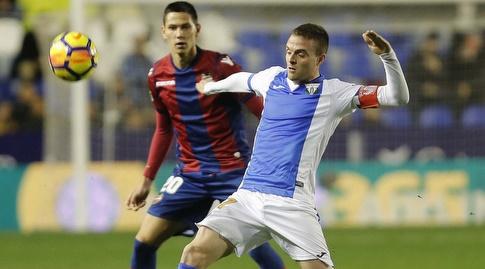 סאשה לוקיץ' רודף אחרי חאבייר אראסו (La Liga)