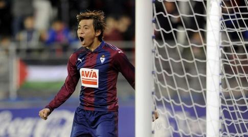 טקאשי אינוי. אייבר תדרוך במקום (La Liga)