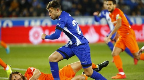מוניר אל חדאדי עם הכדור (La Liga)