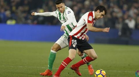 איניגו לקווה עם הכדור (La Liga)