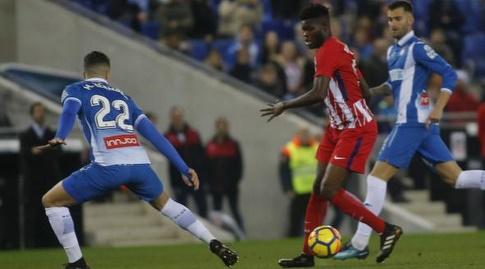 אנטואן גריזמן עם הכדור (La Liga)