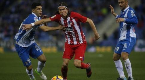 פיליפה לואיס מול חאבי לופס (La Liga)