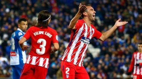 דייגו גודין מוחה על פסילת השער (La Liga)