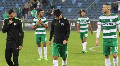 שחקני חיפה מאוכזבים (עמית מצפה)