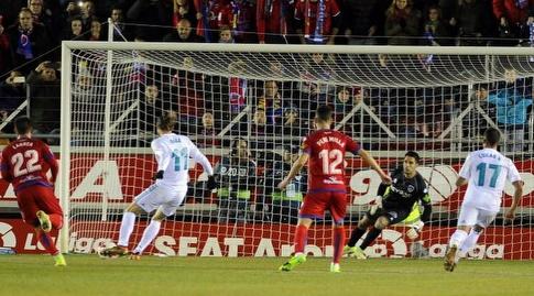 בייל בועט לשער (La Liga)