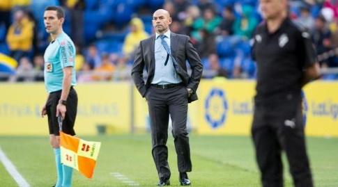 פאקו חמס , מאמן לאס פלמאס (La Liga)