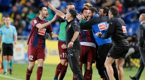 אייבר חוגגת את השער השני (La Liga)