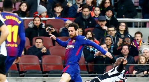 לרמה מכשיל את מסי (La Liga)