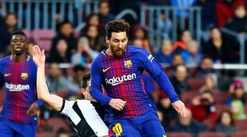 ליאו מסי פורץ קדימה (La Liga)