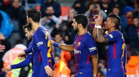 פאוליניו חוגג עם החברים (La Liga)