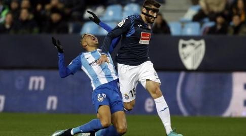 דויד לופס מכשיל את יוסוףאן נסירי (La Liga)