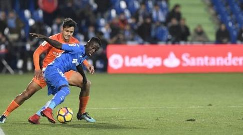 אמאת' נ'דיאיי עם הכדור (La Liga)