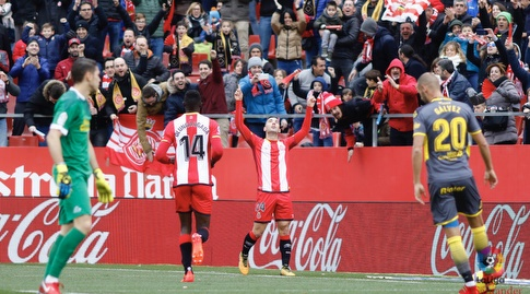 בורחה גרסיה חוגג (La Liga)